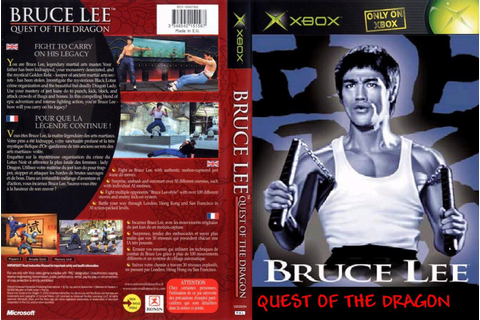 Game Zone: BRUCE LEE QUEST OF THE DRAGON